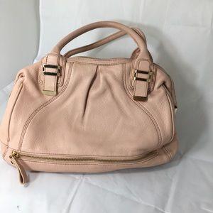 Liz Claiborne New York Light Pink leather